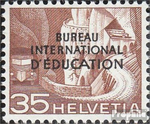 Prophila Collection Suiza IBE35 1950 educación Paisajes (Sellos para los coleccionistas)