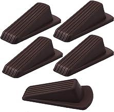 Cozihom Premium rubberen deurstopper - universele deurstop wig, flexibele, stabiele en niet-krassen deurhouder, 5 verpakki...