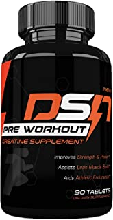 Dyna Storm Nutrition Pre Workout, Creatine Pre Workout Supplement, tablets, 1 Bottle (30 day supply)