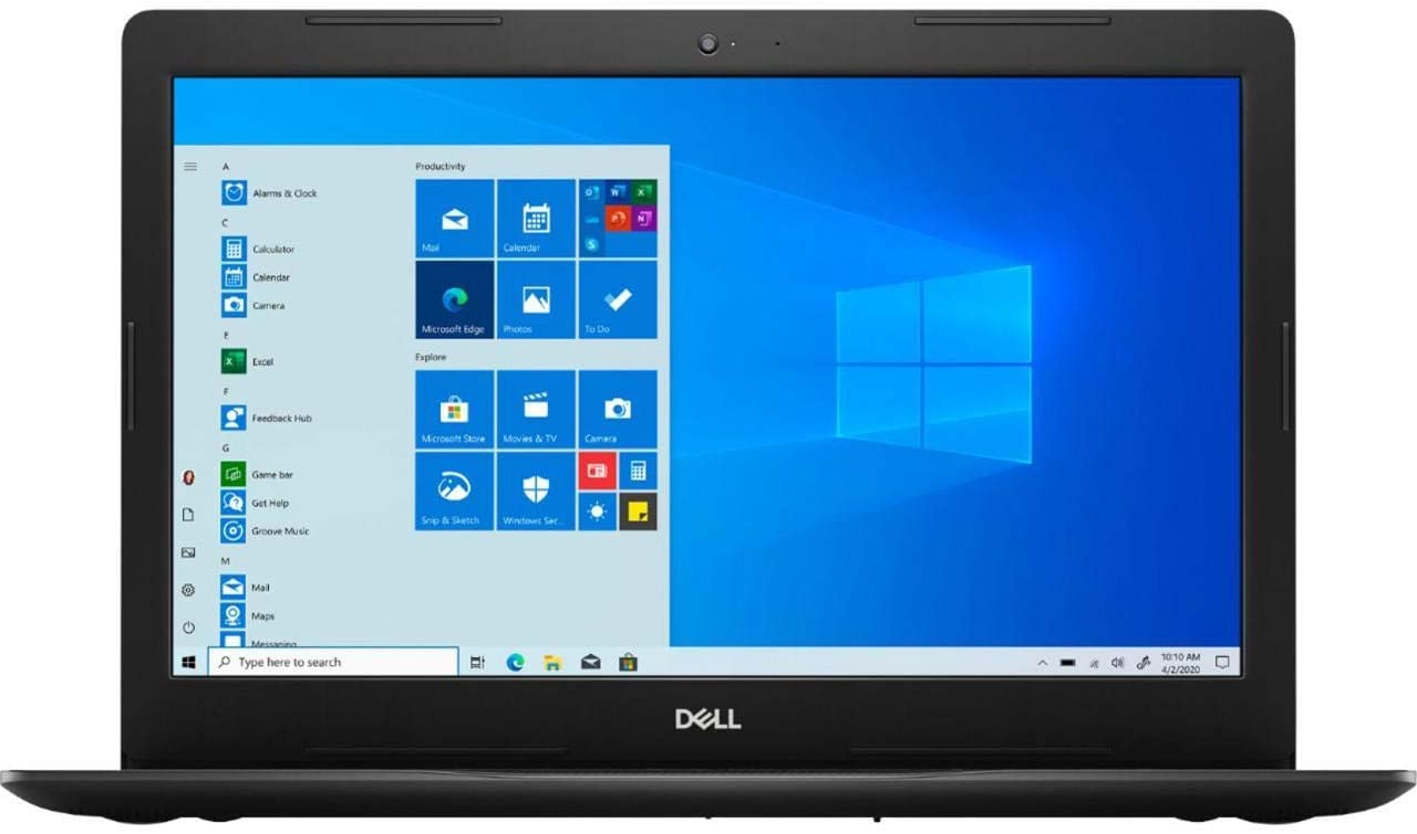 "2019 Dell Inspiron 15: 10th Gen Core i5-1035G1, 512GB SSD, 12GB RAM, 15.6"" Full HD Touch Display, Windows 10"