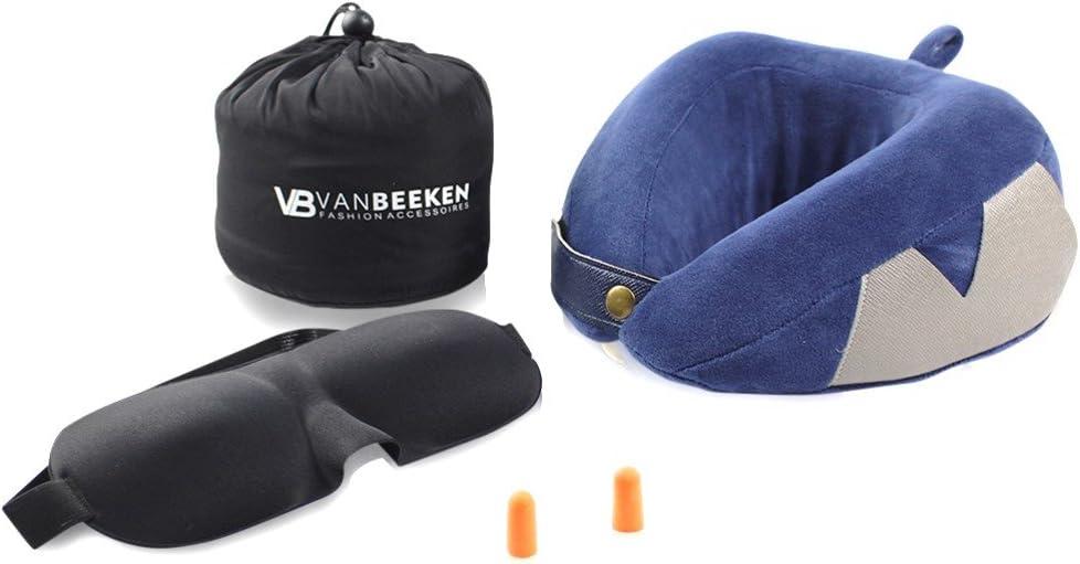 Almohada de Cuello para Viaje Almohada Cervical – Almohada de Viaje (Suave, cómodo Memory de Espuma de plástico