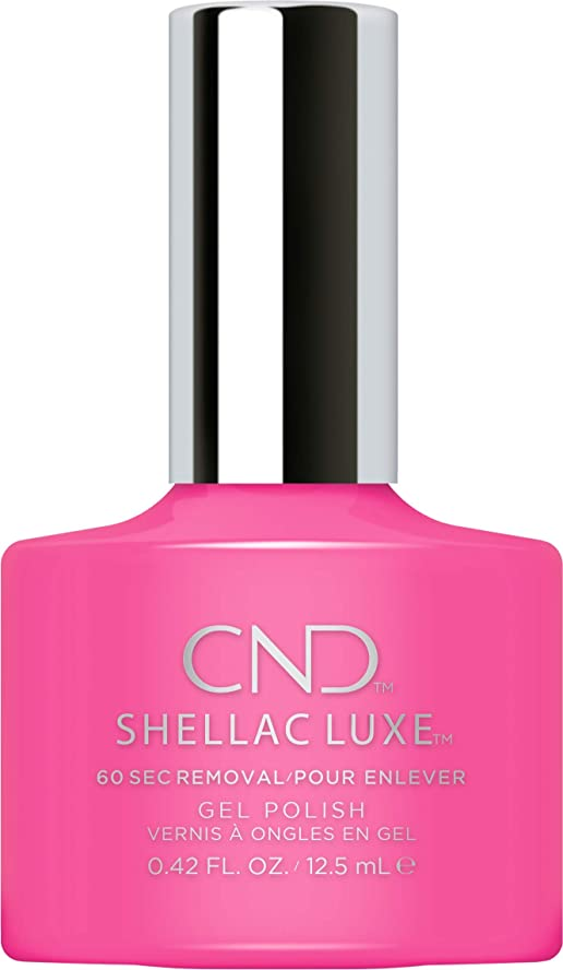 操るアデレード倫理的CND Shellac Luxe - Hot Pop Pink - 12.5 ml / 0.42 oz