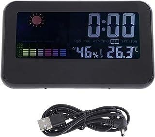 Jeanoko Termómetro Medidor de humedad Medidor de humedad Termohigrómetro Medidor de temperatura Medidor de temperatura par...