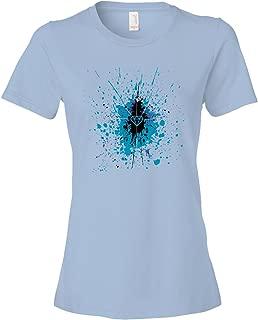 Diamond Splatter Tee Shirt