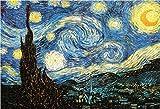 YspgArt Puzzles Malen Sternennacht von-Van Gogh
