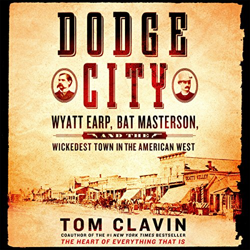 Dodge City audiobook cover art