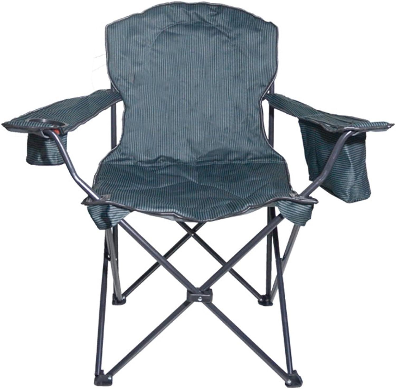 Portable Camping Chair Outdoor Folding Chair Beach Fishing Armchair