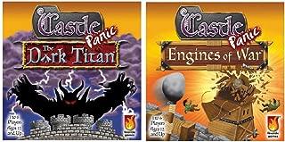 Fireside Games Castle Panic Expansion Bundle, Dark Titan and Engines of War