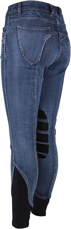 Epplejeck Reithose Irma Silikon Kniebesatzkids  - - - Blau - Gr. 164 B077TXPZD1  Das hochwertigste Material 1d0d2f