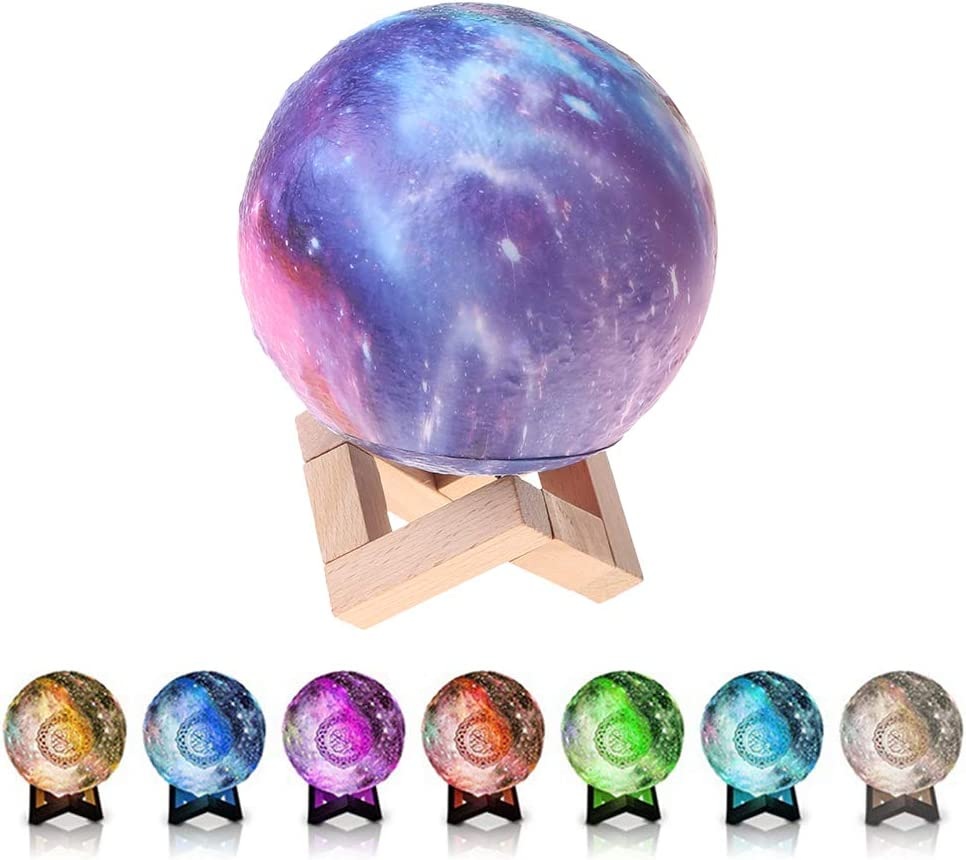 Rapid rise 2021 autumn and winter new BMBN SQ171 Bluetooth Speaker Moon Lamp with Stand Smart Cont APP