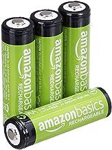 AmazonBasics - Pilas AA recargables, precargadas, paquete de