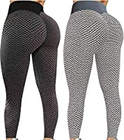 2 ST TIK Tok Leggings Butt Lift Leggings Vrouwen Yoga Pant Hoge Taille Butt Lifting Bubble Hip Lift Workout Broek