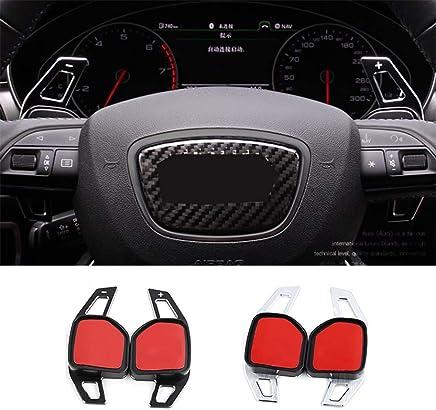 Car Steering Wheel DSG Paddle Shift Shifter Extensions for Audi A3 S3 A4 S4 B8 A5 S5 A6 S6 A8 R8 Q5 by Baodanjiayou