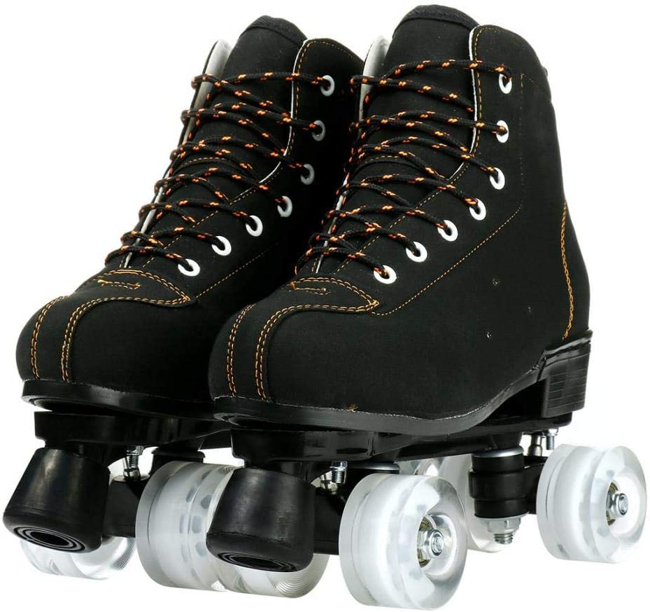 Roller Skates Beauty products for Women Men Double Fo Row Max 43% OFF High-top