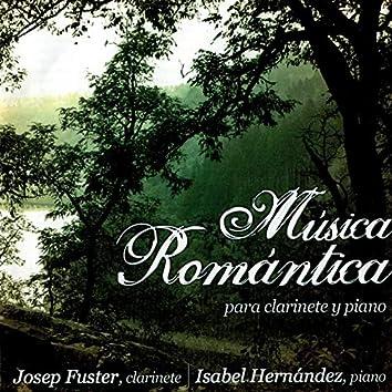 Música Romántica para Clarinete y Piano