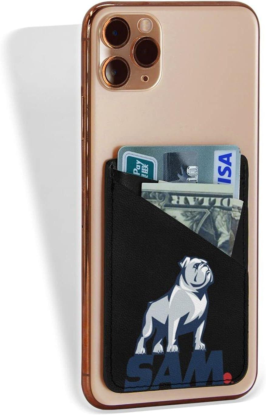 Samford University Logocredit Card Holder Fashion Mobile Phone Card Package 3.1 X 2.5 in