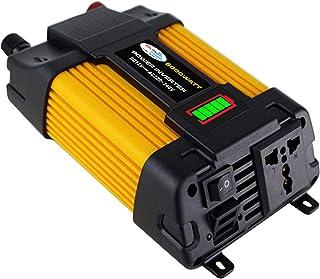 KKmoon Inversor de onda senoidal modificado de alta frequência 4000W Inverter de energia de pico Conversor DC 12V para AC ...