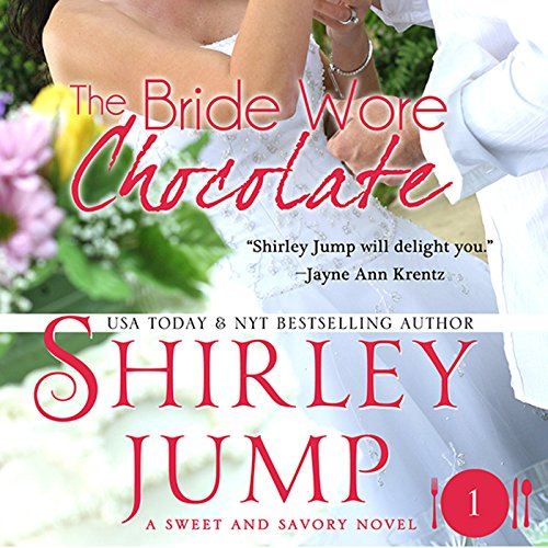 The Bride Wore Chocolate audiobook cover art
