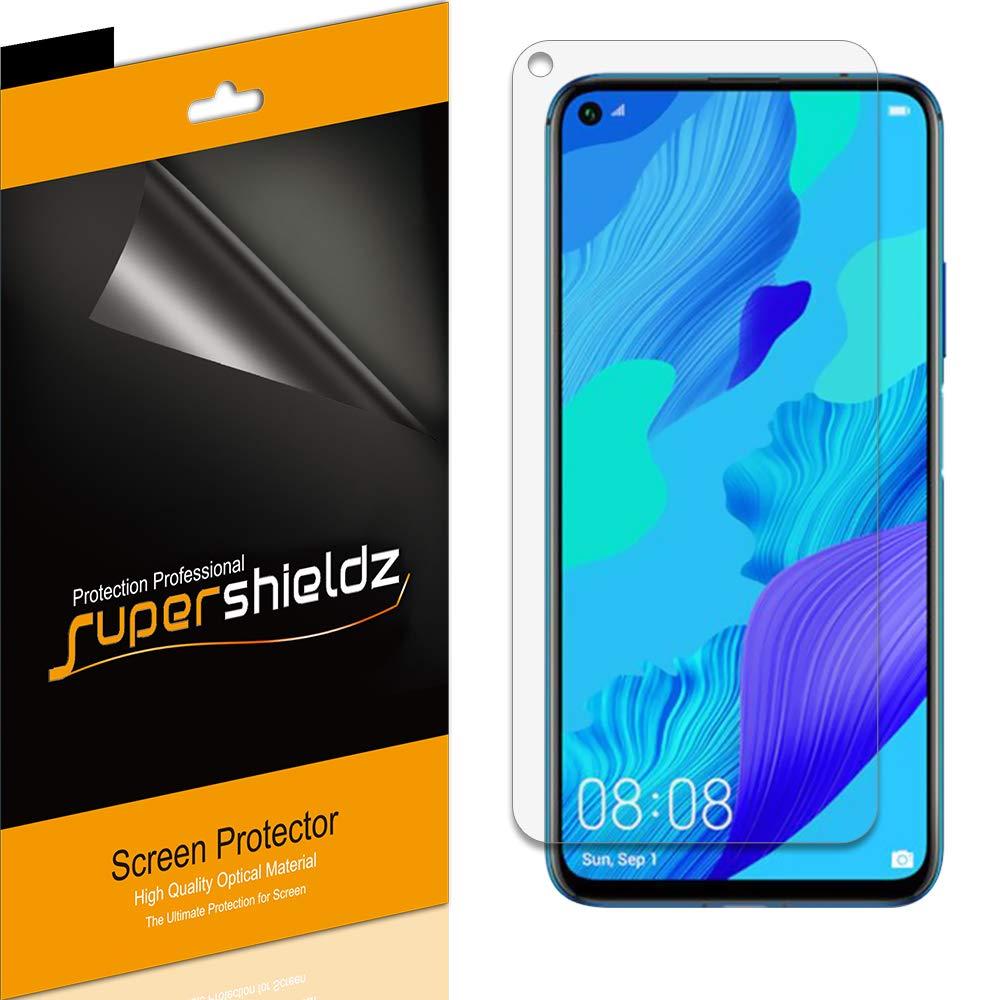 (6 Pack) Supershieldz for Huawei Nova 5T Screen Protector, High Definition Clear Shield (PET)