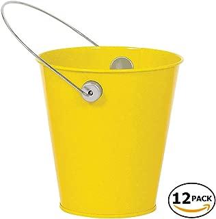 Best yellow metal bucket Reviews