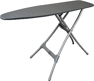 Homz Durabilt Steel Heavy Duty Ironing Board, Grey