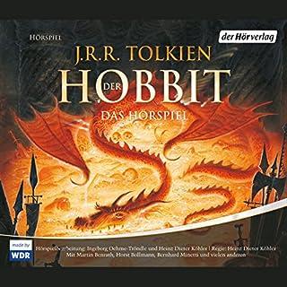 Der Hobbit     Das Hörspiel              Autor:                                                                                                                                 J.R.R. Tolkien                               Sprecher:                                                                                                                                 Martin Benrath,                                                                                        Horst Bollmann,                                                                                        Bernhard Minetti                      Spieldauer: 4 Std. und 27 Min.     848 Bewertungen     Gesamt 4,5