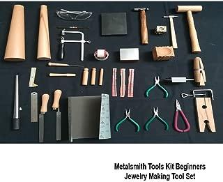 Metalsmith Tools Kit Beginners Apprentice Metalsmithing Jewelry Making Tool Set