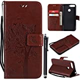 For Huawei Y6 2018 Case,Honor 7A Case,Shockproof Embossed