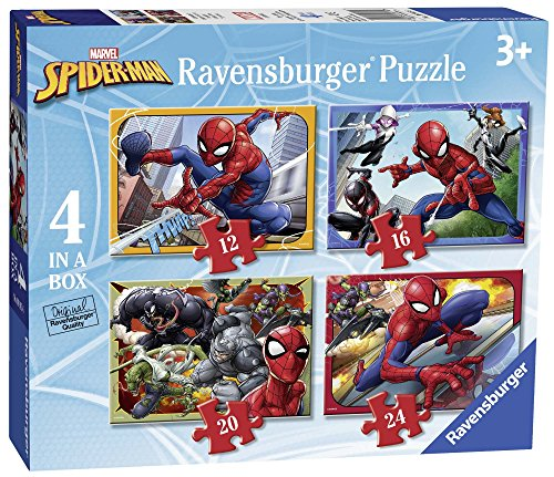 Ravensburger Italy- Puzzle in a Box Spiderman, 06915 6
