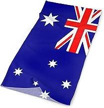 INStophot Australia Flag Headband Bandana Mask Sports Seamless Breathable Turban for Workout, Fitness, Running, Cycling, Yoga