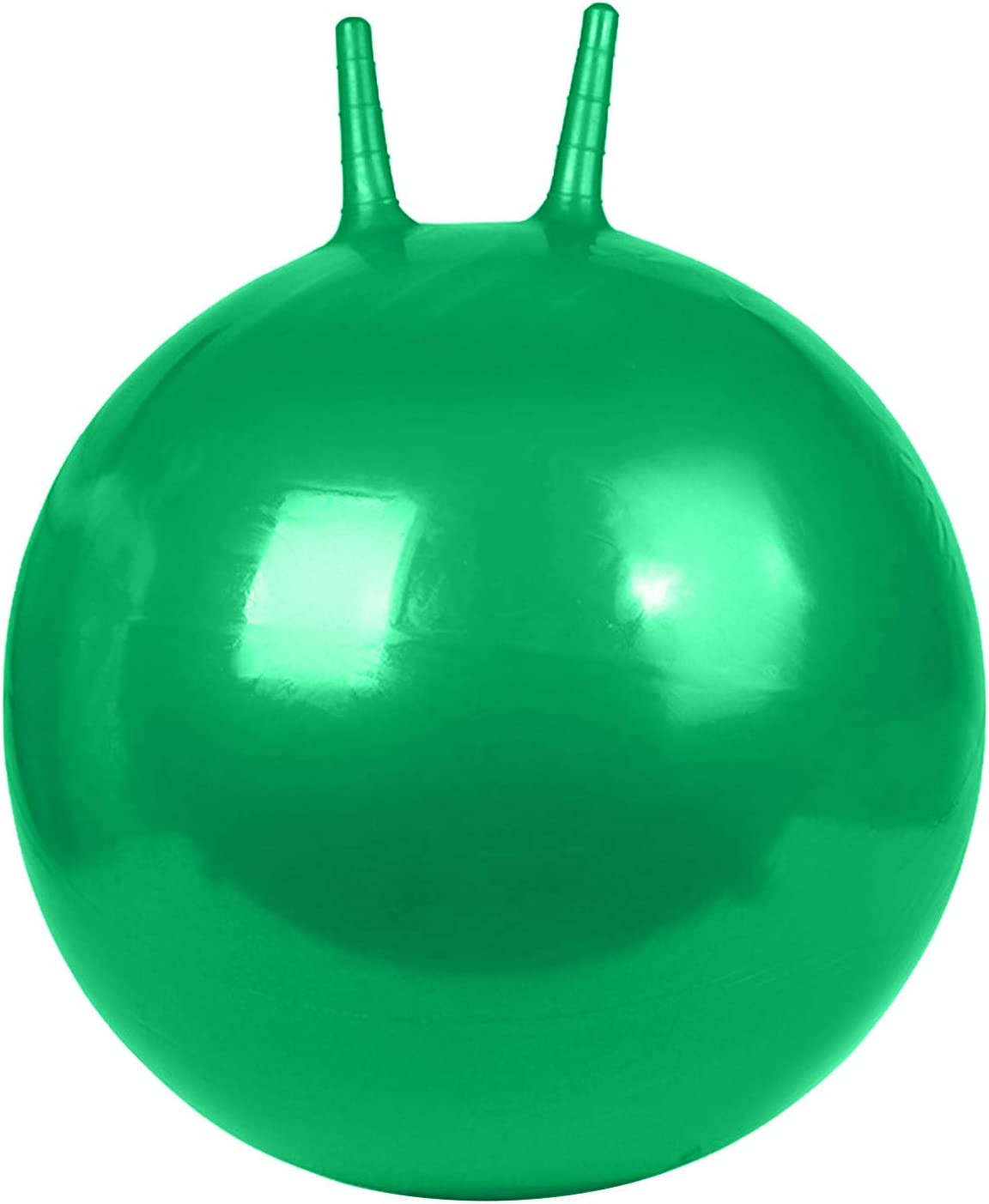LONGZUVS Hop Ball for Kids and Adults, 18in Inflatable Bounce Ho