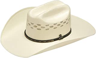 Men's Bangora SS/SS4 Decorative Hatband Hat, Ivory, 7 3/8