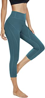 KEEPBEAUTY Workout Leggings for Women High Waisted Yoga Pants for Women Running Yoga Capri Leggings