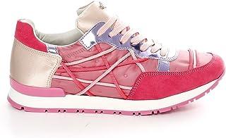 ca349efa06286b L4K3 Scarpe Sneakers Lake Donna Mr Big Ecocamoscio Piumino Raso Rosa (35 EU)