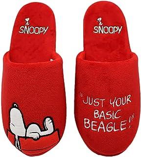 Chinelo de quarto feminino Snoopy 36 a 38