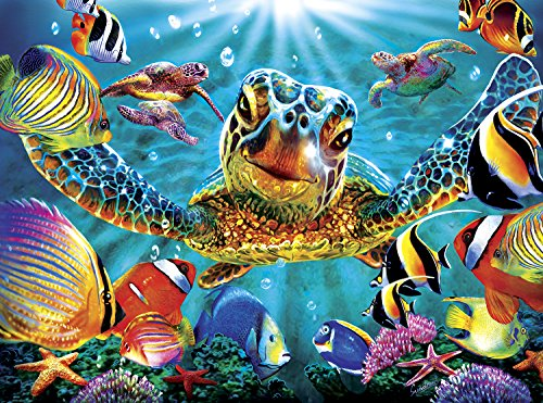 Buffalo Games - Marine Color - Tiny Bubbles - 1000 Piece Jigsaw Puzzle