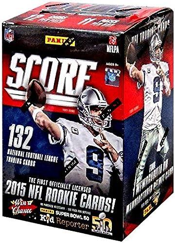 marca en liquidación de venta NFL Score 2015 Score 2015 Trading Card Blaster Box by by by NFL  suministramos lo mejor
