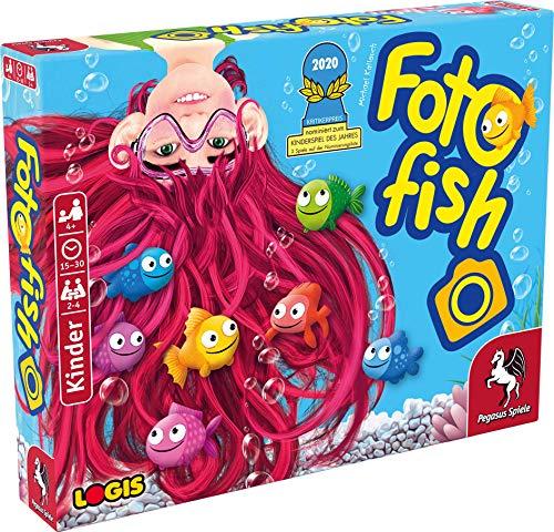 Pegasus Spiele 66100G - Foto Fish *Nominiert Kinderspiel des Jahres 2020*