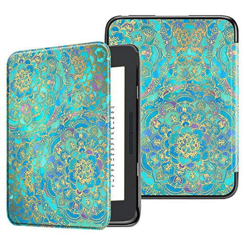Fintie Case for All-New Nook Glowlight Plus 7.8 Inch 2019 Release, Ultra Lightweight Slim Shell Cover for Barnes & Noble Glowlight Plus 7.8 eReader (Not Fit Previous Gen 6 Inch 2015),Shades of Blue