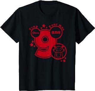 Enfant cadeau anniversaire 9 ans humour - trop chou pour mes 9 ans T-Shirt