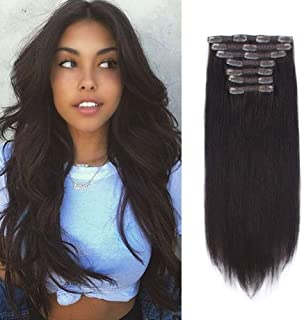 Best clip in human hair extension Reviews