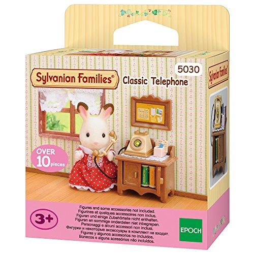 Sylvanian Families 5030 Klassisches Telefon - Puppenhaus Einrichtung Möbel
