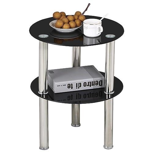 Black Side Tables Amazon Co Uk