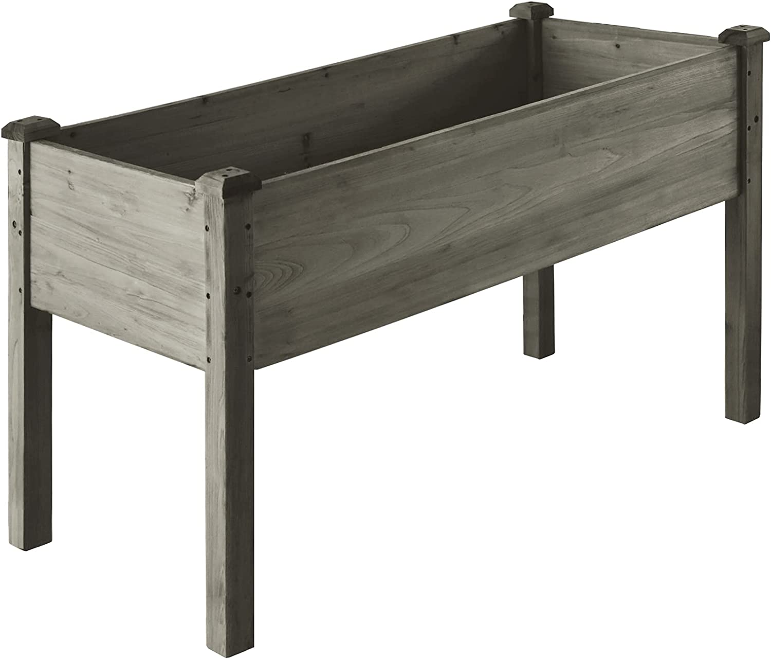 Max 76% OFF LZRS 33x17x30 inches Raised Garden Wooden Elevated Bed Planter B Max 63% OFF