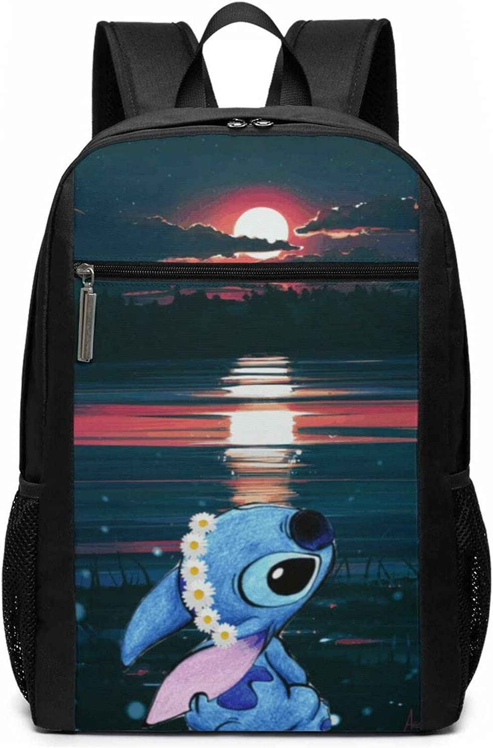 Lilo And Free shipping Stitch Cute Backpack School Time sale Bag Character Cartoon Anime