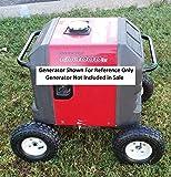 wheel kit Fits Honda EU3000is Generator - All Terrain ~ No Generator included