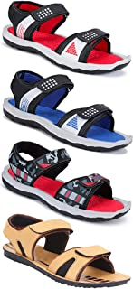 Earton Combo Pack of 4,Men Sandal & Slipper