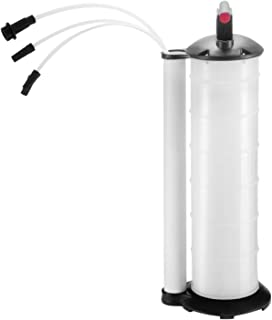 Happybuy Oil Extractor 7 Liter Engine Oil Extractor Oil Changer Vacuum Fluid Extractor Pump Tank Remover for Automotive (7Liter Oil Extractor)