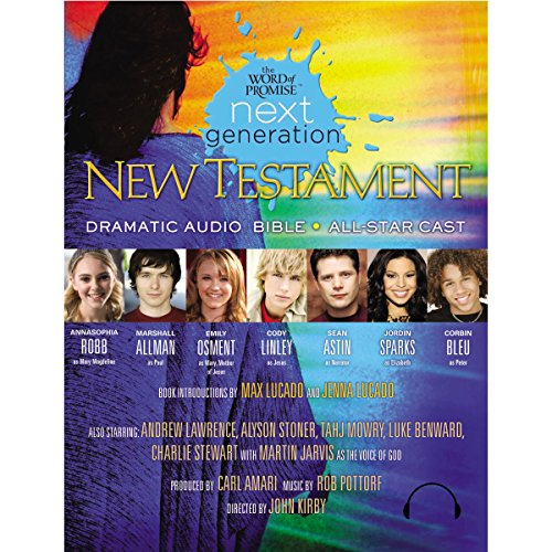 Word of Promise Next Generation - New Testament (Dramatized) audiobook cover art