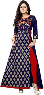 Readymade Cotton Long Women Dress Kurti for Women Formal & Party Wear 96